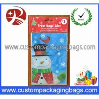 Buy cheap Plastic Christmas Candy Treat Bags Printed Recycled With HDPE Raw Material from wholesalers