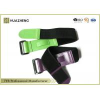China Plastic Buckle Elastic Hook And LoopBand For Training , Hockey Chin Strap on sale