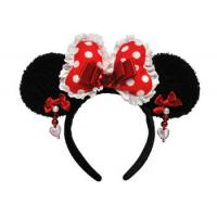 Wholesale Red Minnie Mouse Ears Headband from china suppliers