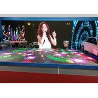 Wholesale Waterproof Led Stage Screen Rental P6.25 Interactive LED Dancing Floor Display Heat Dissipation from china suppliers