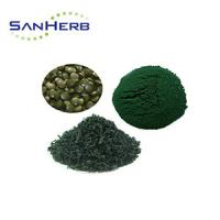 China Pure 60% Protein Natural Plant Extract , Fine Organic Spirulina Powder on sale