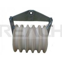 Pulley Blocks for Power Transmission Line as Stringing Block, Nylon Sheave, Galvanized Steel Frame