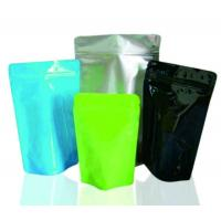 Logo Printable Stand Up Zipper Bags Tea Packaging Pouches 100g Capacity