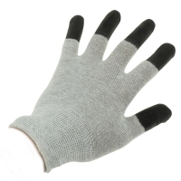Wholesale Antistatic Cleanroom Lab 10e7 Ohms ESD Dotted Gloves from china suppliers