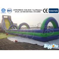 Wholesale Great Kids Inflatable Slides Giant Slip Lane Jumper for Exciting Challenge from china suppliers