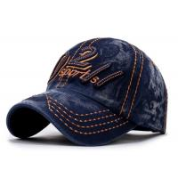 Adult Cotton Embroidered Baseball Caps Antique Casquette For Outdoor Sports