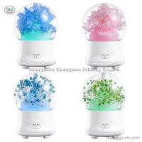 China Eternal Immortal Flower Essential Oil Aroma Diffuser Humidifier Ultrasonic Aromatherapy 7 Color Color for Office Home for sale