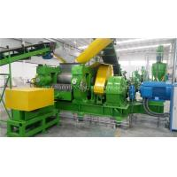 China Full Auto Waste Tyre Recycling Machine High Efficiency With 1 Year Warranty for sale