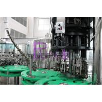 Wholesale 3 In 1 Glass Bottle Drinking Water Filling Plant With Full Automatic PLC Control from china suppliers