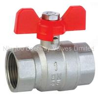 Wholesale Brass Butterfly Ball Valve (BW-B17) from china suppliers
