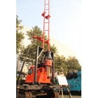 China 200m Crawler Drilling Rig With Mud Pump Well Drilling Rig 360° Angle Range on sale