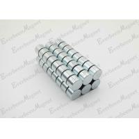 China Strong Neodymium Magnets Dia 15 mm * 10 mm Thickness Zinc Coated For Holders for sale