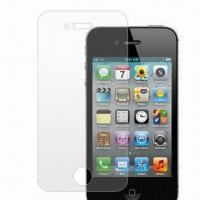 Wholesale Anti-glare Protector, Suitable for Apple's iPhone 4S, Made of High Transparency Film Material from china suppliers