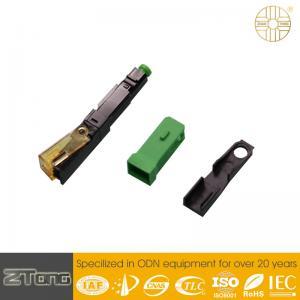 Wholesale High Level UPC Fiber Connector , Plastic Optical Fiber Connectors Rainproof from china suppliers