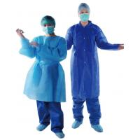 Wholesale Standard Clinic Disposable Surgical Gown / Disposable Hospital Theatre Gowns from china suppliers