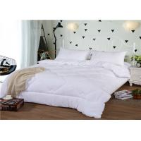 China Soft Hotel Collection King Duvet 350GSM And 80S Duck Down Cotton Winter With Diamound Pattern on sale