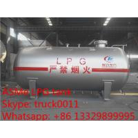 CLW Brand mini 5,000L surface lpg gas storage tank for sale, ASME standard 5M3 bulk lpg gas storage tank for sale