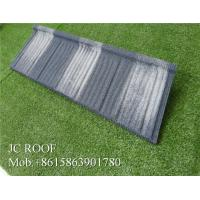 Wholesale Waterproof Green Shingle Corrugated Zinc Roofing Sheets In Tanzania Customized Color from china suppliers