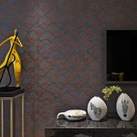 Wholesale New Popular Plant Fiber Particle Wallpaper for Wall Manufacturer Designer from China from china suppliers