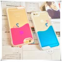Wholesale Drop proof Flowing Liquid PC Hard iphone protective cover For 6 / 6s from china suppliers