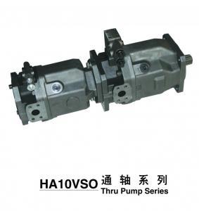 Perbunan Seal Flow Control Tandem Piston Pump For Excavator , Truck