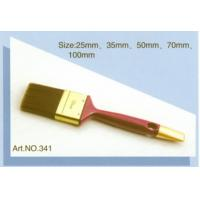 Plastic handle pure natural bristle Chinese bristle synthetic mix paint brush No.341