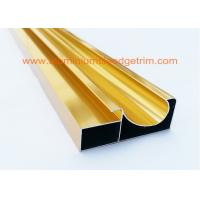 Wholesale Electrophoretic Coated Gold Aluminium Cabinet Door Profiles 0.4mm-20mm Thickness from china suppliers