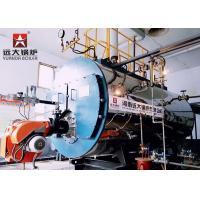 Wholesale High Efficiency Fire Tube Oil Fired Hot Water Boiler Three Way Automatic Running from china suppliers