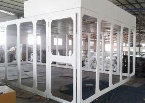 Wholesale Spray Coated Steel Portable Class 100 Cleanroom Booth / Laminar Flow Booth from china suppliers