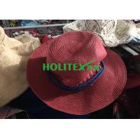 China Colorful 2nd Hand Hats , Mixed Female Used Hats And Caps For All Seasons on sale