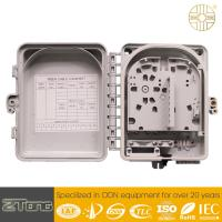 Wholesale PC+ABS Material Fiber Optic Distribution Box 6-12 Core Double Layer Design from china suppliers