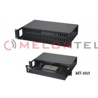 Wholesale Durable Fiber Optic Patch Panel 48 Port 2U SC Duplex Adaptor For Telecom Network from china suppliers