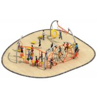 China Luxury Style Rope Playground Equipment Climbing Structure Customized Size on sale