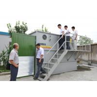 Wholesale MBR Water Treatment and Sewage , Membrane filtration compact design 25 - 720m³/d  Capacity from china suppliers