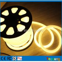 Wholesale 82 feet spool 12V 360 degree round warm white led flexible neon for signs from china suppliers