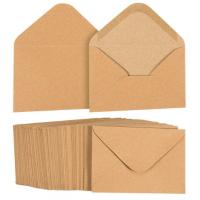 Wholesale A1 Kraft Paper Envelopes , Multiple Uses Brown Wedding Invitation Envelopes from china suppliers
