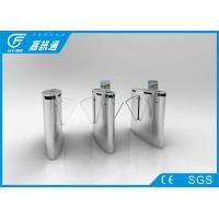 Stainless Steel Smart Automatic Fingerprinted Electronic Gate Turnstile with Lobby