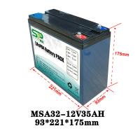 Wholesale Lithium Power Pack 12v Car Backup Battery For Security Monitoring Device from china suppliers