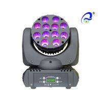 Wholesale 12 * 10 Watt LED Wash Moving Head High Brightness DMX Moving Head Wash Led Lighting from china suppliers