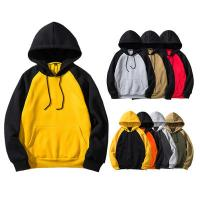 China Fashion 100% Cotton Block Mens Oversized Pullover Hoodie For Autumn Season for sale