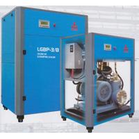 Quality 105 CFM Double Rotary Screw Air Compressor , Oilless Two Stage Air Compressor for sale