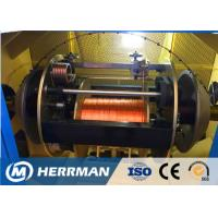 Wholesale Aerospace Normal Copper Wire Twisting Machine , Single 0.08 - 0.45mm Wire Making Machine from china suppliers