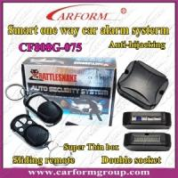 Wholesale One Way Car Alarm CF808G System, Double Socket, Anti-hijackin Auto Alarms Systems from china suppliers