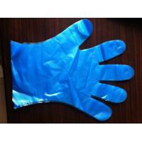 Wholesale Colored PE examination gloves,PEVA disposable gloves,smooth/embossed surface,weight 1.0g from china suppliers