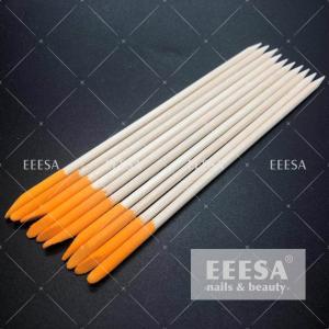 Wholesale Customized Orange Wood Sticks A Grade Asian Birch Wood Orange Cuticle Stick from china suppliers