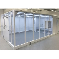 Wholesale 220V 50HZ Softwall Cleanroom Medical Masks Production / Medical Clean Room from china suppliers