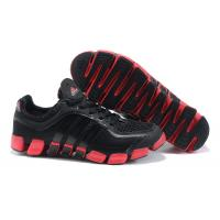 Wholesale Newest fashion style mesh / leather top black / red Stability Running Shoes for men from china suppliers