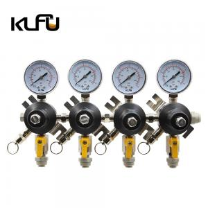 Wholesale 12mm Connecter Two Stage 120PSI CO2 Pressure Regulator For Beer / Soda from china suppliers
