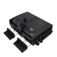 Wholesale Black Waterproof CTO Box , 16 Port OTB Optical Termination Box For Ftth Network from china suppliers