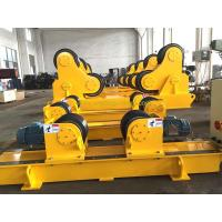 Quality Wireless Control Self Aligning 100 T Pipe Stands for Welding Wind Tower Butt for sale